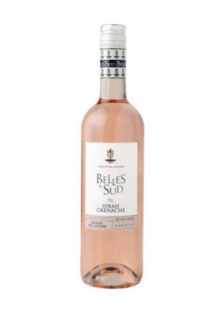 Belles du Sud Rosé Syrah Grenache Pays d'Oc IGP 75cl