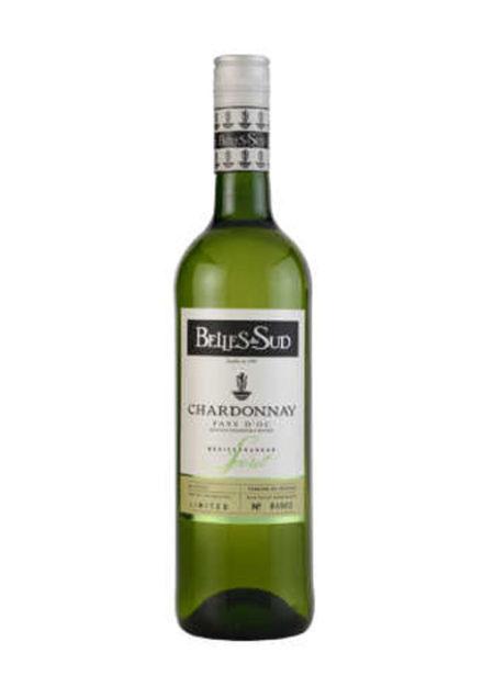 Belles du Sud Chardonnay Pays D'oc 75cl