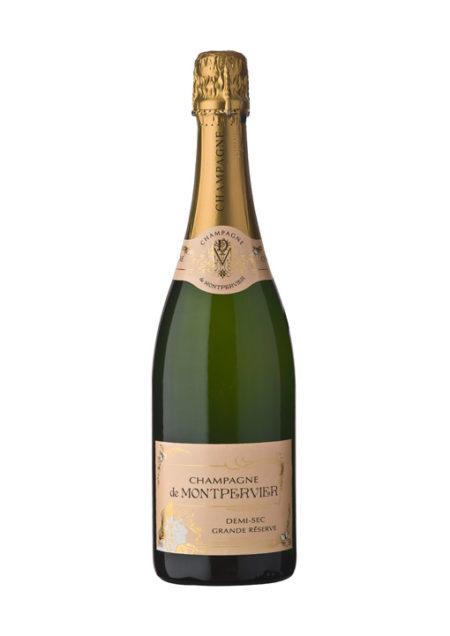 Champagne De Montpervier Demi-Sec Grande Réserve 75cl