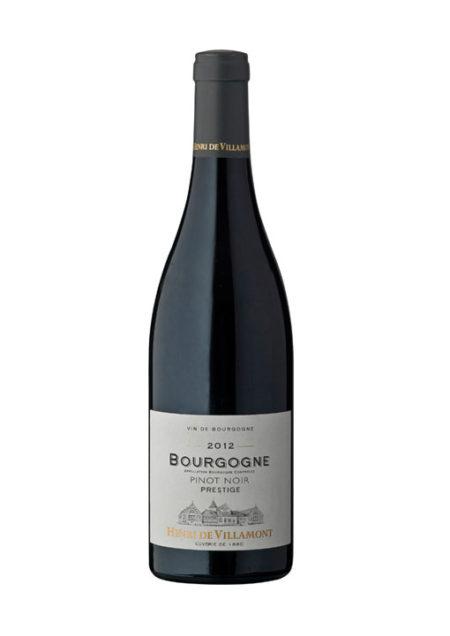 Henri de Villamont Bourgogne Pinot Noir Prestige 75 cl