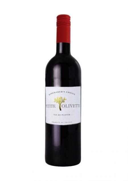 Petite Olivette Rouge Vin De Plaisir Grenache Duras Carignan 75cl