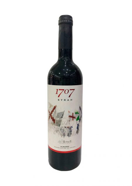 1707 Syrah Reserva Almansa DO 75cl