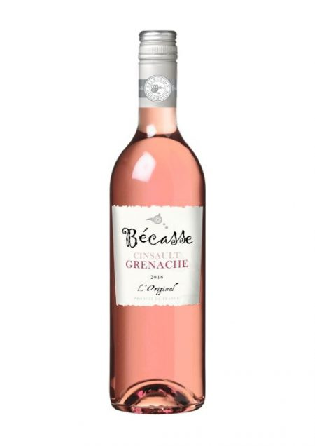 Becasse Rosé Cinsault Grenache L'Original Vin de France 75cl