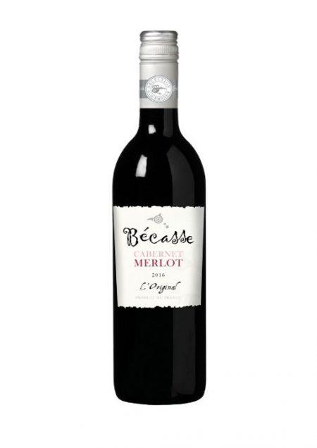 Becasse Rouge L'Original Merlot Cabernet Vin de France 75cl