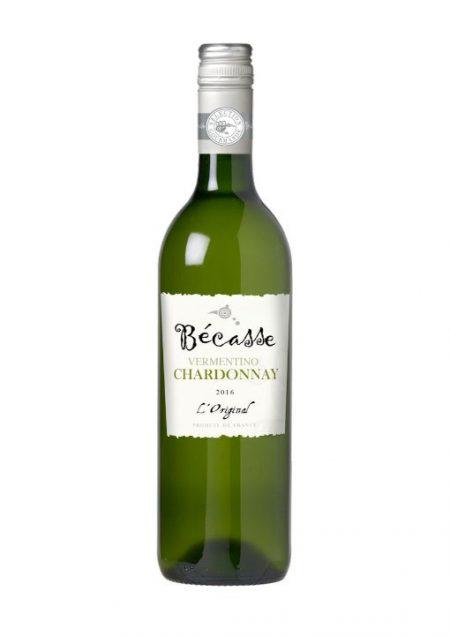 Becasse Blanc Chardonnay Vermentino L'Original Vin de France 75cl