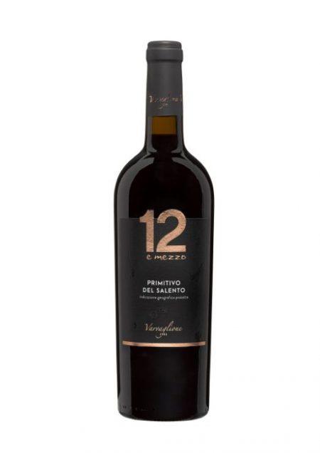 Varvaglione Vigne e Vini 12 e Mezzo Primitivo del Salento IGP 75cl